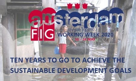 FIG adopts the Sustainable Development Goals (SDGs) as a central theme