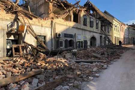 Croatian Earthquake – appeal for support