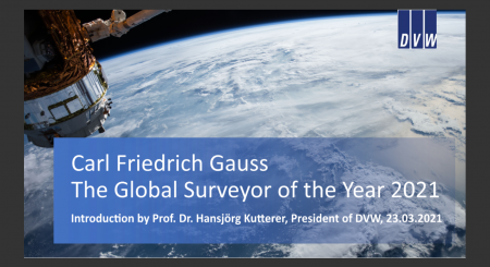 Global Surveyor of the Year 2021